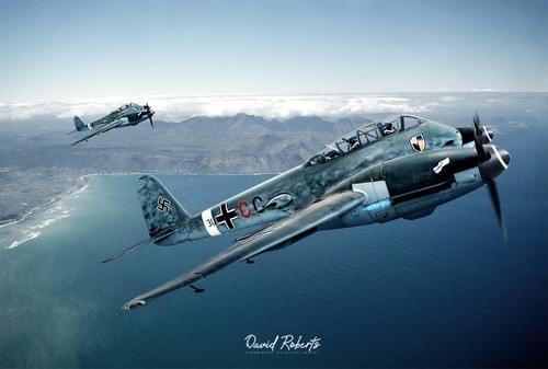 0362 ME 410 Hornet pair