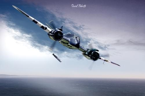 0330 Bristol Beaufighter torpedo bomber
