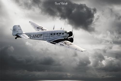 0335 Junkers Ju52 Trimotor
