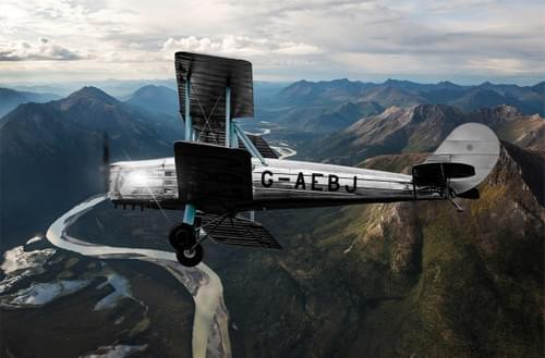 0193 Blackburn B2 Biplane