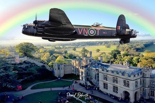 0337 Lancaster over castle