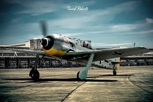 0378 Focke Wulf FW190 at Templehof