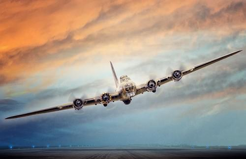0089 Boeing B17 Flying Fortress
