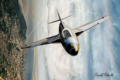 0294 Hawker Hunter banking