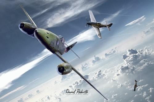 0311 ME262 and P51 Mustangs