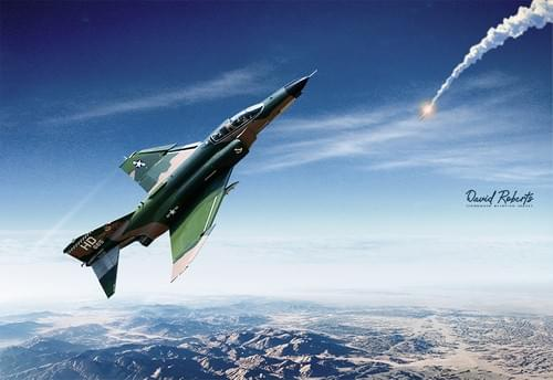 0324 Phantom and missile over Viet Nam