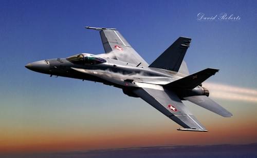 0203 Northrop F18 Hornet