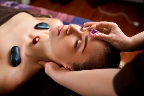Massages énérgetiques aux cristaux de 1 h 15 avec musique douce