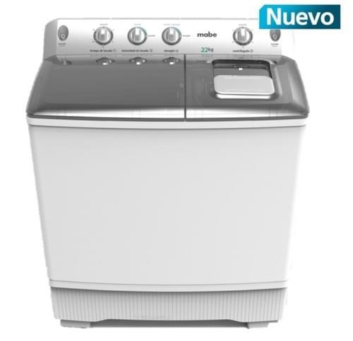 Lavadora Semiautomática Mabe LMD2200B0  22 kg