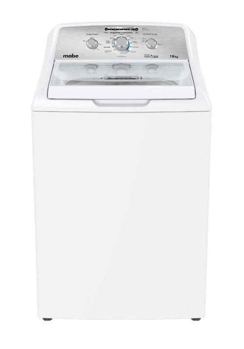 Lavadora Mabe Aqua Saver Green 19 Kg. Blanca con Sanitizado