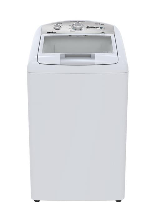 Lavadora Mabe Aqua Saver Green 16 Kg. Blanca