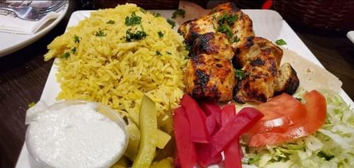 Shish Tawook (normal or spicy)