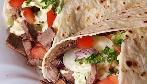 Beef Shawrama Wrap
