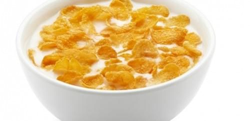 Cereal With a Glass of Milk