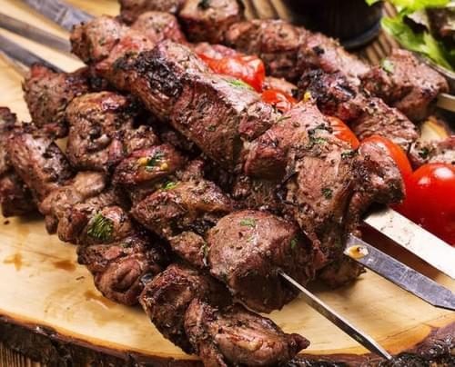 BBQ Beef Tikka Platter