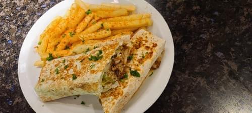 Chicken/Beef Shawarma Wrap Combo