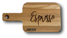 Twin Pack Coffee / Cake Serving Board - WK157