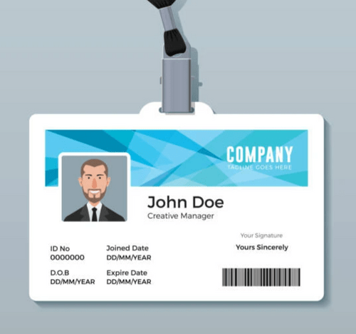 Replacement Staff ID