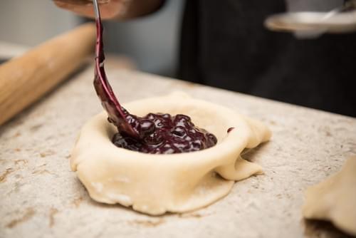 "9"" Blueberry Cream Pie"