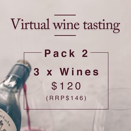 Virtual Wine Tasting - 3 Wine Pack