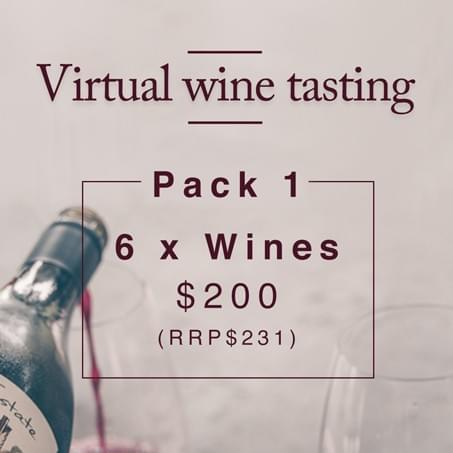 Virtual Wine Tasting - 6 Wine Pack