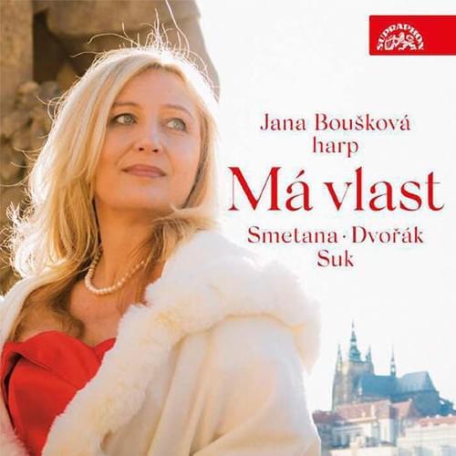 【CD】『わが祖国』スメタナ、ドヴォルザーク、スーク:ハープ作品集 ヤナ・ボウシュコヴァー(ハープ)