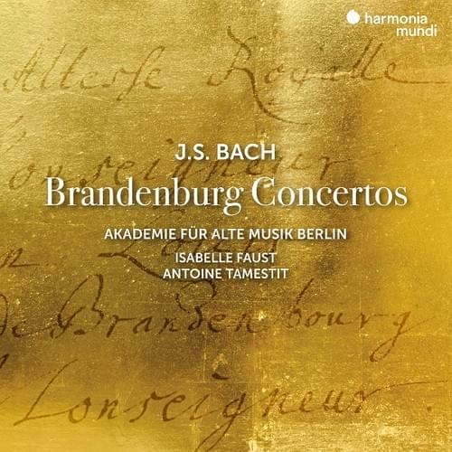 【CD】J.S.バッハ:ブランデンブルク協奏曲(全6曲)ベルリン古楽アカデミー