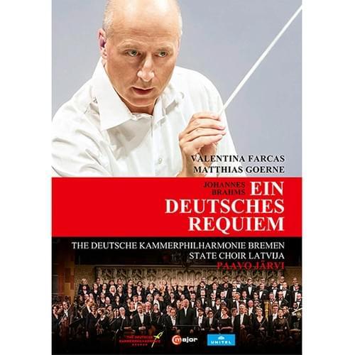 【DVD/Blu-ray】ヤルヴィ(指揮)ドイツ・カンマーフィル『ブラームス:ドイツ・レクイエム』