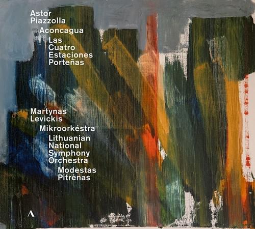 【CD】アストル・ピアソラ:バンドネオン協奏曲「アコンカグラ」、ブエノスアイレスの四季  マルティナス・レヴィキス(アコーディオン)