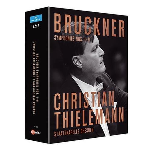 【Blu-ray】ティーレマン(指揮)ドレスデン・シュターツカペレ『ブルックナー:交響曲全集』
