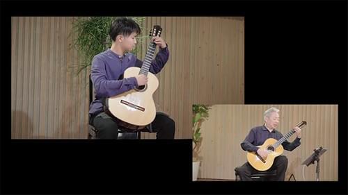 【オンデマンド】福田進一 ザ・ギターレッスン Lesson6「低音のメロディー、そして和音の弾き方」