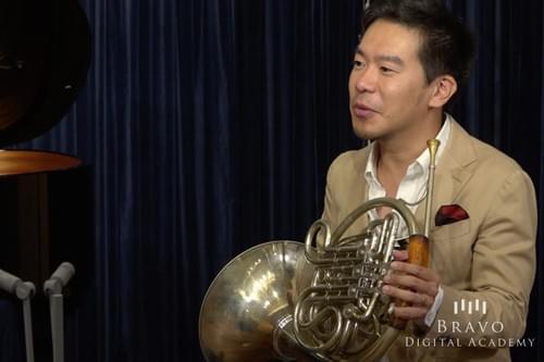 福川伸陽 - ホルン - 3レッスン