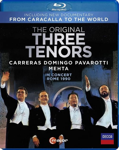 【Blu-ray】三大テノール伝説のコンサート・イン・ローマ1990