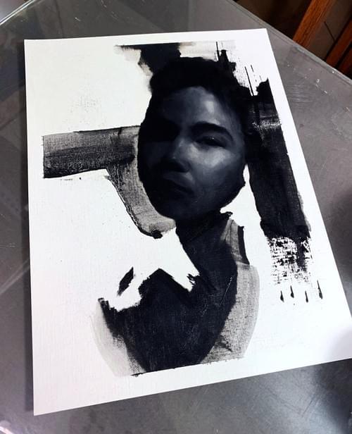 Untitled Monochrome Study
