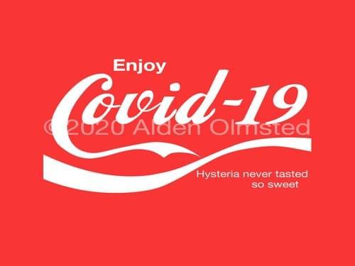 Covid-19 Hysteria so sweet T-Shirt