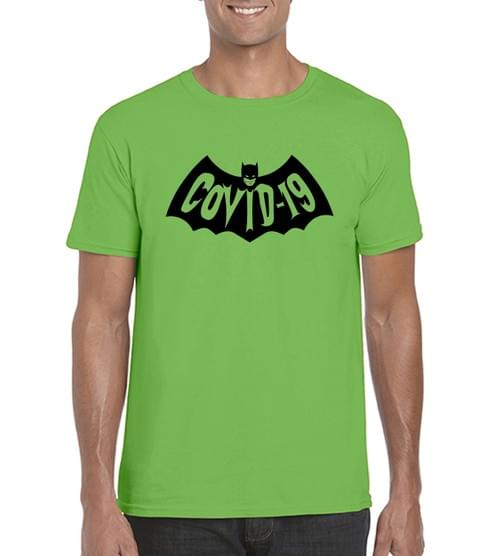Bat-Covid T Ringspun Cotton