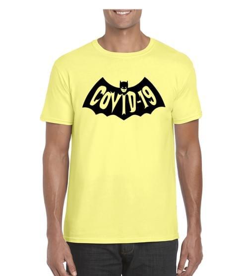 Bat-Covid T Ringspun Cotton