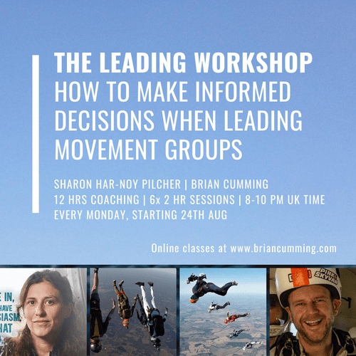 OC11 | The Leading Workshop | How To Make Informed Decisions When Leading Moving Groups