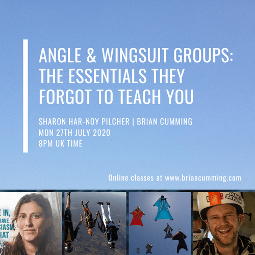 OC10 | Online Class | Angle & Wingsuit groups - The Essentials They Forgot To Teach You