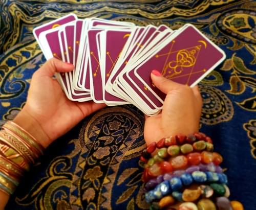 1 Hour in person Tarot Reading