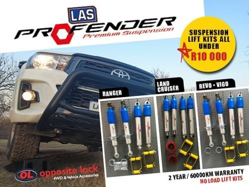 LAS Profender Suspension Lift Kit   Toyota Hilux Vigo 2005 -2015
