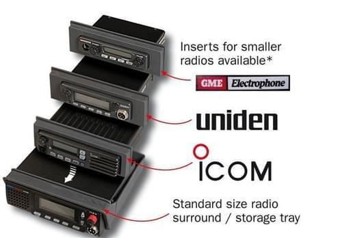 R/Console Insert (GME / Uniden) 102 x 34