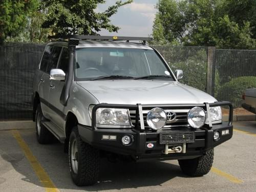 Toyota Land Cruiser 100 Series IFS New Design