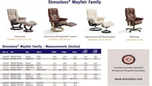 Stressless Mayfair Recliner starting at: