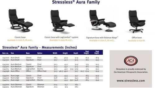 Stressless Aura Recliner starting at:
