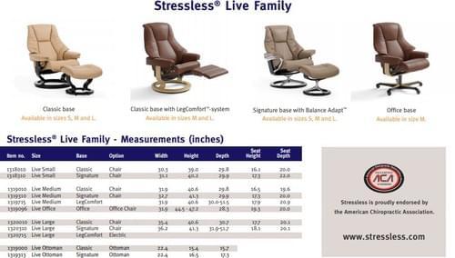 Stressless Live Recliner starting at: