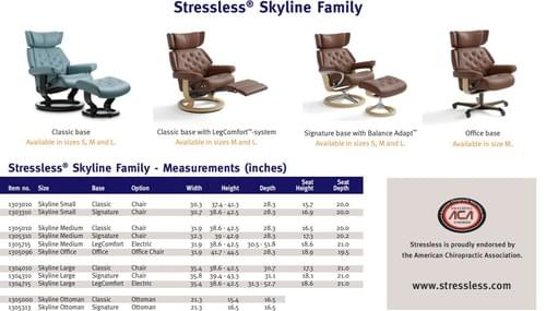 Stressless Skyline Recliner starting at: