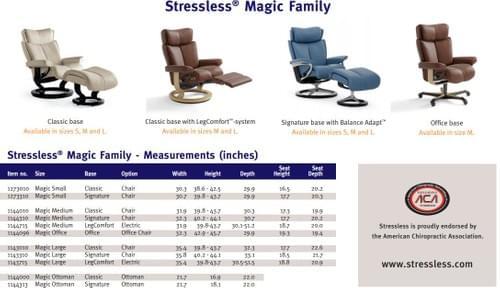 Stressless Magic Recliner starting at: