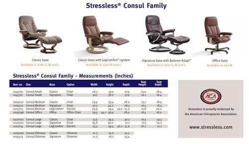 Stressless Consul Recliner starting at: