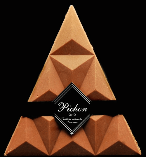 Triangle Chocolat Lait / Caramel